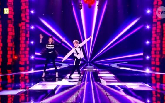 Nina i Adam tańczą Vogue Madonny