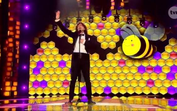 Piotr Rubik i Pszczółka Maja
